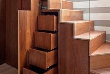 Bútorok - lépcsők - szobák