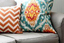 Pillows & rugs / by Kerri O'Lear