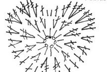 Horgolt diagram - minta