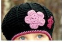 Horgolt kalap - sapka