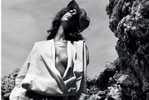 Fashion ads and editorials