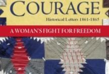 Stitch of Courage by Linda K. Hubalek / Stitch of Courage: A woman's Fight for Freedom, Historical Letters 1861-1865. The third book in the Trail of Thread series, tells the story of the orphaned Maggie Kennedy, who followed her brothers to Kansas in the late 1850's. In letters to her sister in Ohio, Maggie describes how the women of Kansas faced the demons of the Civil War, fighting bravely to protect their homes and families while never knowing from one day to the next whether their men were alive or dead on a faraway battlefield.