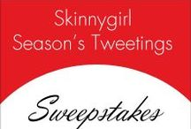 Skinnygirl #SeasonTweetings Sweepstakes / Go to our Twitter page for the chance to win 2 tickets to see Bethenny live in NYC! Click on each pin for more information on how you can #win! http://bit.ly/1akf9Ri