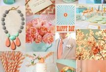 Peach/Mint/Coral Wedding Details
