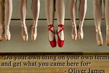 Put on yr red shoes / To my Dad,a great dancer who loved to Jive.To Geri ,my Chloe's ballet teacher. Me? I just do crazy gila dancing to LOUD music. / by Ladybird@50
