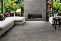 Pretty Porcelains / Porcelain. With new colors and styles its one of the biggest trends with interiors