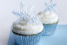 Cupcakes / This board is about cupcakes designed to look like snow or ice