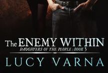 Book: The Enemy Within by Lucy Varna / The Enemy Within (Daughters of the People, Book 3) by Lucy Varna * www.lucyvarna.com
