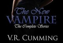 Book: The New Vampire by V.R. Cumming / The New Vampire (Vampyr Series, Book 3) by V.R. Cumming * www.vrcumming.com