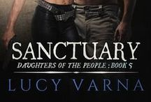 Book: Sanctuary by Lucy Varna / Sanctuary (Daughters of the People, Book 5) by Lucy Varna * www.lucyvarna.com