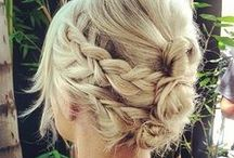 Wedding - Hair / Collection of possible wedding hairstyles / by Macie Hummer