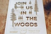 Wedding - Invitations / Collection of possible Save-The-Dates and Wedding Invitations / by Macie Hummer