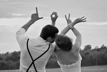Wedding - Photo Ideas / Collection of ideas for both Engagement and Wedding photos / by Macie Hummer