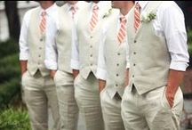 Wedding - Groomsmen / Collection of ideas of what the groomsmen will wear / by Macie Hummer