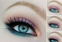 Wedding - Makeup / Collection of possible makeup looks / by Macie Hummer