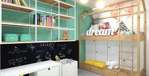 Kids room designs / Children rooms