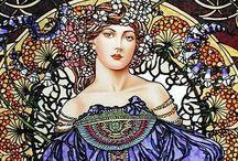 Art nouveau, Secesja / Mucha, Klimt, Wyspiański, Munch, Gaudi