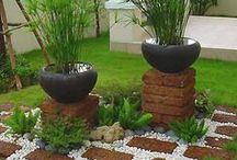 plant stands / beautiful outdoor stands
