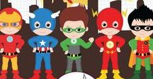 cumple superheroes