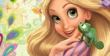 cumple Rapunzel