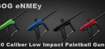 eNMEy 50 Caliber Paintball Guns / GOG eNMEy 50 Caliber Low Impact Paintball Guns are sold and distributed by LazerBall.com