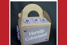 Crealies Create A Box no.12 Gablebox / Crealies Create A Box stans no. 12 Gablebox  9,5 x 7,5 x 5 cm