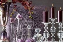AMETHYST / Warm, serene, soft, this hue calms emotions and creates a sense of peace. Considered the color of royals, it's fit for elegance.