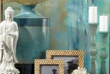 AQUAMARINE / This shade of soft blue feels poised and pretty, with a vivid quality that's light and at ease.
