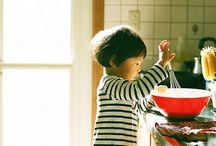Kids' Food / Ideas to make our kids eat mostly healty food