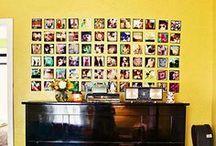 Photo Decor / Photography-themed home decor ideas