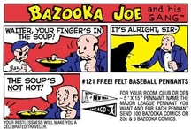 Bazooka Joe Wall Graphics! / WALLS 360 Topps Popular Culture Wall Graphics: Bazooka Joe http://www.walls360.com/category-s/2332.htm