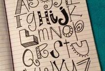 Monograms and Lettering / by Chelsea Sanders