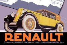 Vintage Automobile Poster Wall Graphics / http://www.walls360.com/automobiles-wall-graphics-s/1918.htm