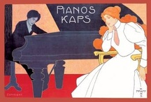 Vintage Music Poster Wall Graphics / http://www.walls360.com/music-wall-graphics-s/1942.htm