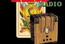 Vintage Radio Poster Wall Graphics / http://www.walls360.com/radio-wall-graphics-s/1966.htm