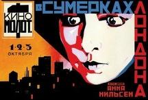 Vintage Soviet Movie Poster Wall Graphics / http://www.walls360.com/soviet-wall-graphics-s/1872.htm