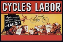 Vintage Cycling Poster Wall Graphics / http://www.walls360.com/cycling-wall-graphics-s/1936.htm