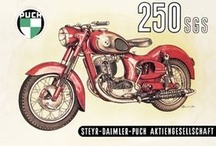 Vintage Motorcycle Poster Wall Graphics / http://www.walls360.com/motorcycles-wall-graphics-s/1856.htm