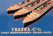 Vintage Travel Poster Wall Graphics / http://www.walls360.com/travel-wall-graphics-s/1853.htm