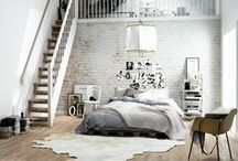BEDROOM / Inspiration to turn your bedroom into a  place to love.