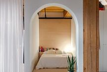 Bedrooms / From a tiny alcove featuring an oversized skylight to a glass shed that can be assembled in remote locations, check out these beautiful bedrooms from Dezeen magazine.