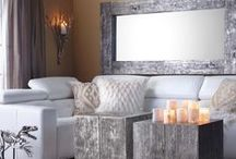 LUXE LIVING ROOMS / Beautiful and interesting living rooms.