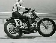 FLAT TRACK / A selection of vintage flat track racing pictures. Photo by : Bert Shepard, John Tavis ...