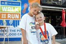 Be The Match Walk+Run Map / Join a community transplanting hope at a Be The Match Walk+Run