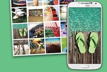 """Smartphonography / Explore endless ways to express yourself with your smartphone's camera. See inspiring photos, experiment with apps, and create unique Wall Art, Photobooks, """"Made for Instagram"""" products and more."""