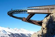 Viewpoints / Imagine the vistas you could take in from these examples of skywalks and viewing platforms, which we've pinned onto a new Pinterest board.
