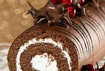Food - Holiday Cooking / All types of foods for the holidays (entrees, soups, desserts, gift ideas). / by Debbie Mikolajczyk
