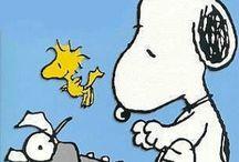 "Manga art ""Snoopy"" / by Mark Watanabe"