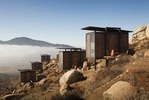 Cabins / Do you ever dream of escaping the hustle and bustle of the city? Check out our new Pinterest board filled with stunning cabins in remote, isolated landscapes. / by Dezeen magazine