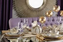 HOLIDAY ENTERTAINING GUIDE / Entertain in style this season. Find tablescapes, bar ideas, cocktails, & recipes from Food Fashion Party in our new Holiday Entertaining Guide. / by Z Gallerie